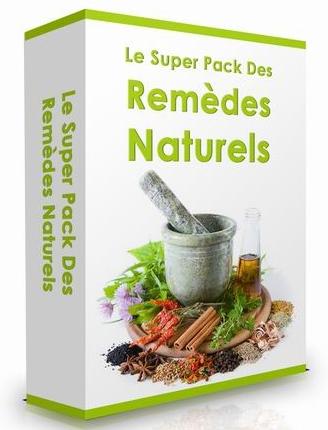 Découvrez le super pack des Remèdes Naturels