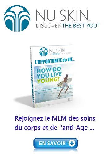 Rejoignez le MLM des soins du corps et de l'anti-Age ...
