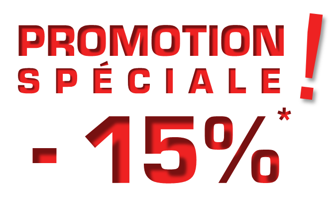 Promotion -15%